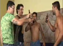 Gays Brasileiros Transando Bêbados