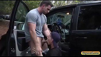 Sexo Homem com Homem na Rua