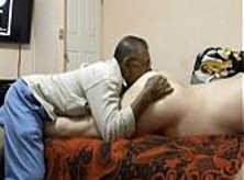 Gordo Gay Penetrado pelo Vovo Tarado