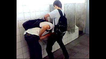 Flagra Gay Amador de Boquete no Sanitário Masculino